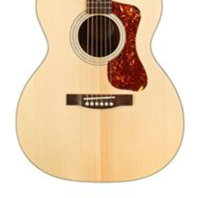 Guild OM240E Acoustic Electric Guitar Natural