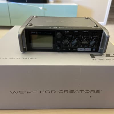 Zoom F4 Multitrack Field Recorder with Case