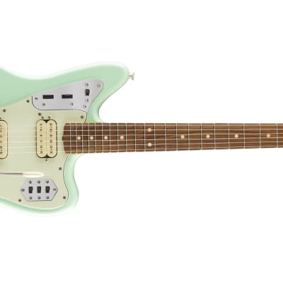 Fender Vintera '60s Jaguar Modified HH - Pau Ferro, Surf Green for sale