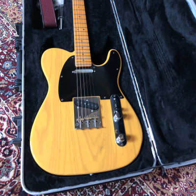 Fender Telecaster Deluxe Upgraded Butterscotch Blonde 2001