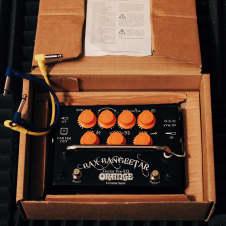 Orange Bax Bangeetar Guitar Pre-EQ Pedal Black (IN BOX w/ 2 free patch cables)