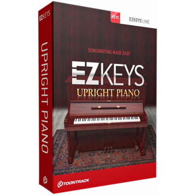 Toontrack EZKeys Upright Piano Download Card