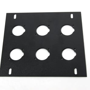 Elite Core Audio FB-PLATE6 Unloaded Plate for Recessed Floor Box