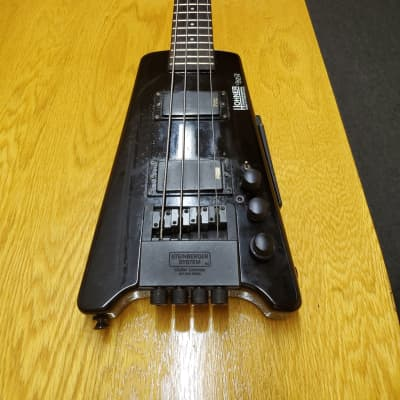 Hohner B2A Headless active bass with gig bag for sale