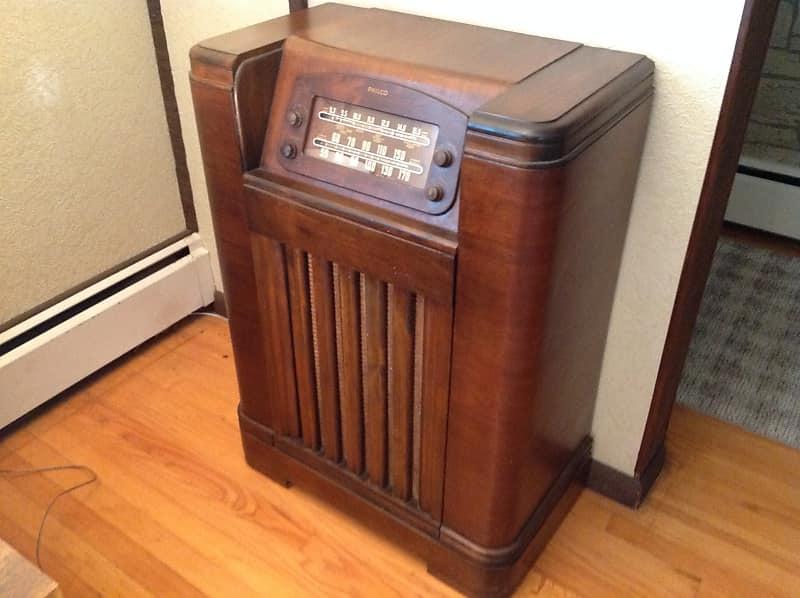 Philco Model 42 1226 Vintage Console Radio 1942 Pro Restored O NYC Area