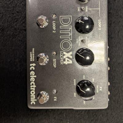 TC Electronic Ditto x4 Looper Looper Guitar Pedal