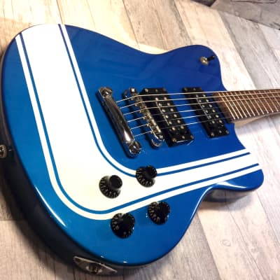 Fender Toronado GT HH Blue With Competition Stripes - MIK for sale