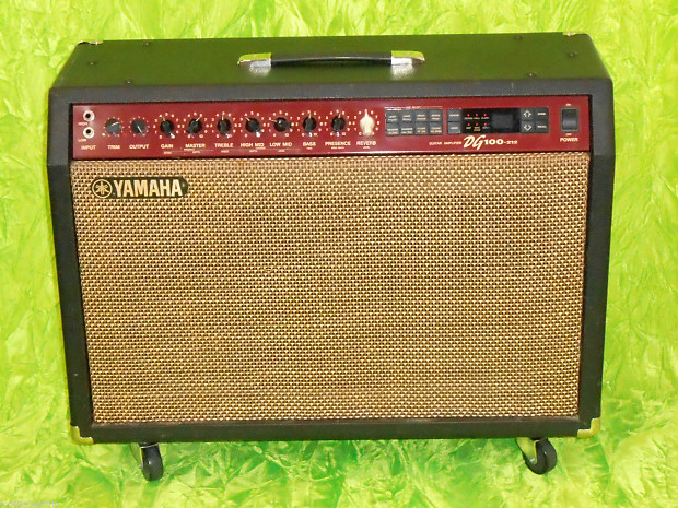 yamaha dg100 212 100 watt digital guitar amplifier nice reverb. Black Bedroom Furniture Sets. Home Design Ideas