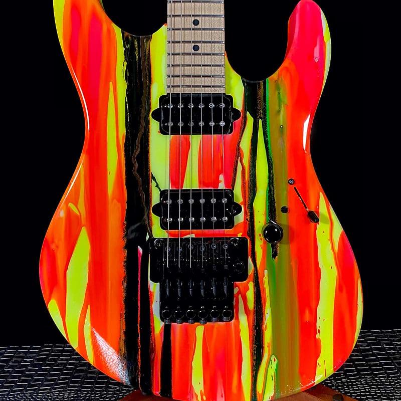 Suhr Modern 80s Shred MKII Neon Drip T