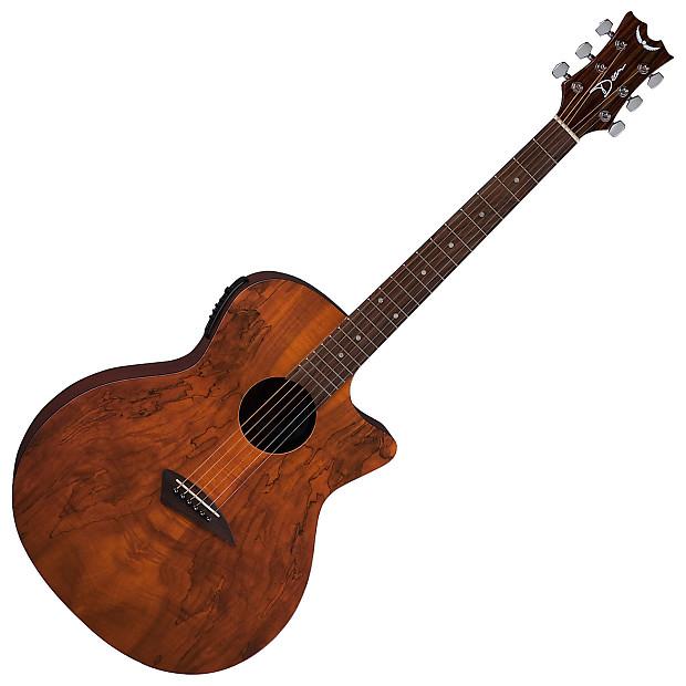 dean axs spalt caw natural acoustic electric guitar reverb. Black Bedroom Furniture Sets. Home Design Ideas