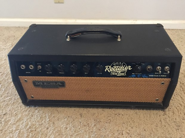 Mesa boogie blue angel 1995 black not in production for Mesa boogie blue angel