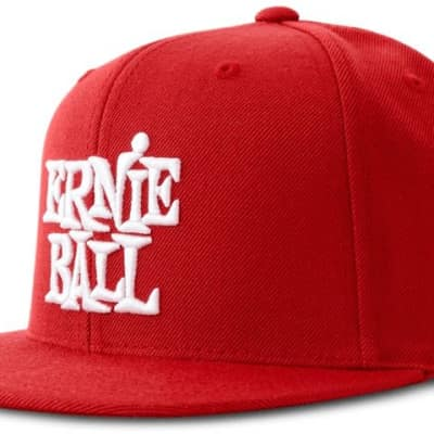 Ernie Ball 4155 RED WITH WHITE ERNIE BALL LOGO HAT - Ships FREE Lower 48 States! for sale