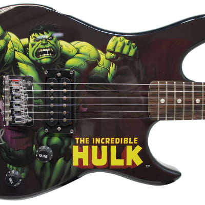 Peavey Marvel Avengers Hulk Full Size Electric Guitar Signed by Stan Lee with Certificate of Authenticity (Serial  BXBBJ301109)