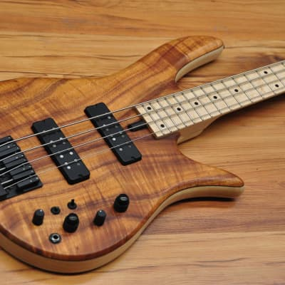 Fodera Monarch Standard Special 4 Koa Hollowbody Limited Edition Doctorbass 2020