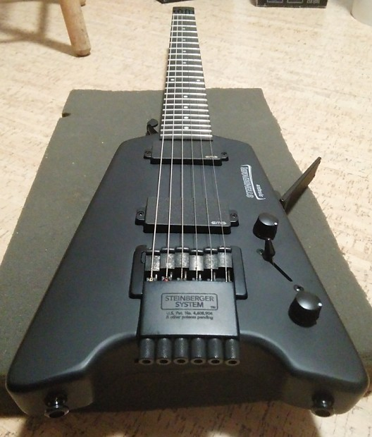 Steinberger Synapse SS-2F Black headless | jfic
