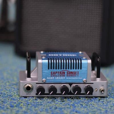 Hotone Captain Sunset High Gain Guitar Amp Head 5 Watts Class AB Amplifier with CAB SIM Phones/Line