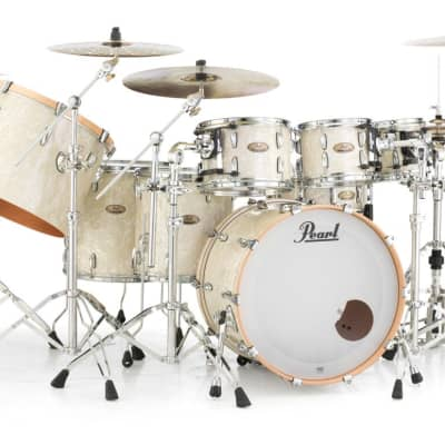 "STS1816F/C405 Pearl Session 18""x16"" Floor Tom NICOTINE WHITE MARINE PEARL"