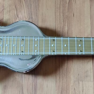 1950's Rickenbacker Model G Deluxe Lap Steel Gold/Chrome With OHSC Free Shipping for sale