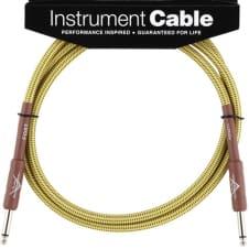 Fender Custom Shop Cable, 5', Tweed
