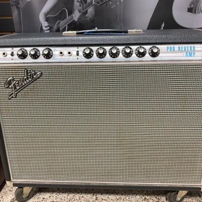 Fender Pro Reverb 1968 New Caps and Tubes