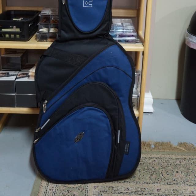 Ritter RCG500-9-E Electric Guitar Gig Bag Black and Ultramarine image