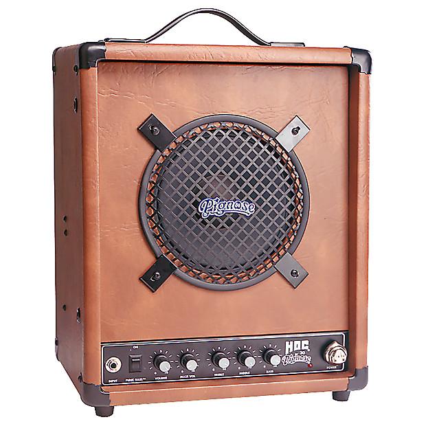 new pignose amp hog 30 portable combo guitar amplifier with reverb. Black Bedroom Furniture Sets. Home Design Ideas