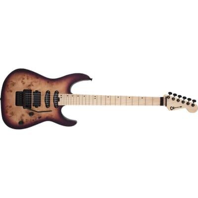 Charvel Pro-Mod DK24 HSS FR M Poplar, Maple Fingerboard, Purple Sunset for sale