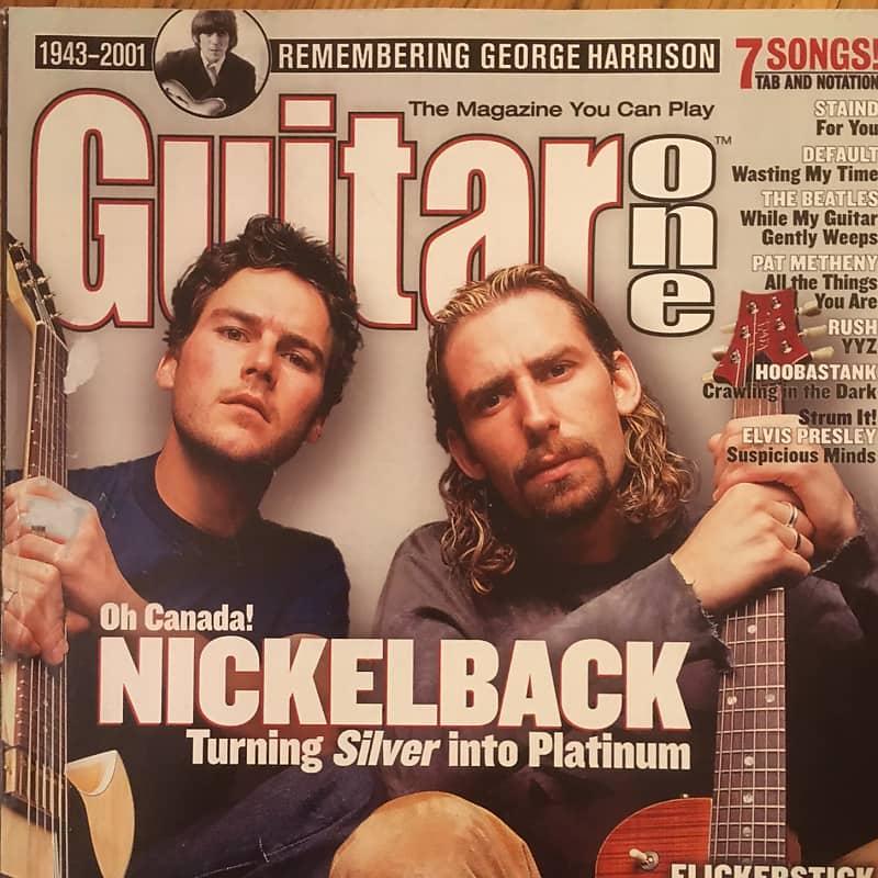 Guitar One March 2002 Nickelback Nasonm Reverb