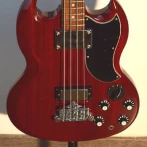 Orville SG Bass EB-3 1998 Heritage Cherry for sale