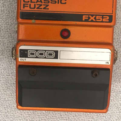 DOD Classic Fuzz FX52 (It's a juiced up Big Muff!) for sale