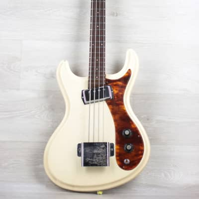 Rare Japan Guyatone EB1 Ventures 1965 White short sclae for sale