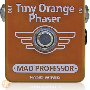 Mad Professor Tiny Orange Phaser Hand-Wired