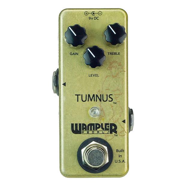 wampler tumnus overdrive guitar effects pedal alto music reverb. Black Bedroom Furniture Sets. Home Design Ideas