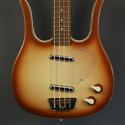 DEMO Danelectro Longhorn Bass - Copper Burst (446) for sale