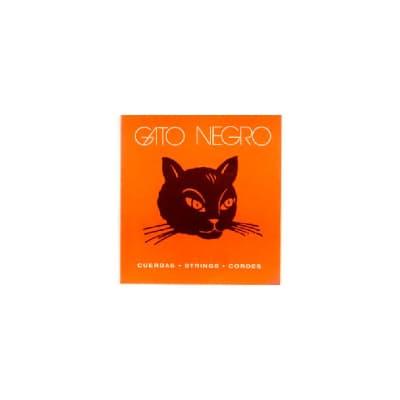 Gato Negro White Nylon Classical Strings