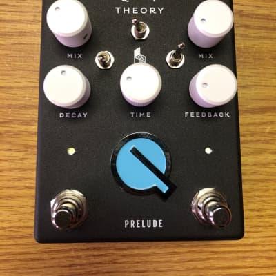 Quiet Theory Prelude Reverb/Delay Black