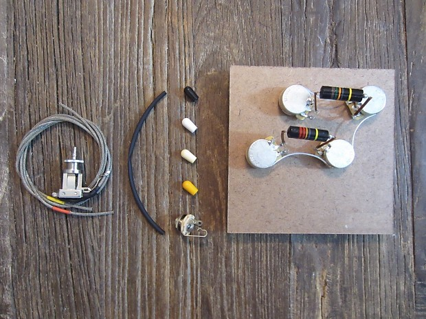 COMPATIBLE WITH GIBSON LES PAUL BUMBLE BEE REPRO VINTAGE WIRING HARNESS /& SWITCH