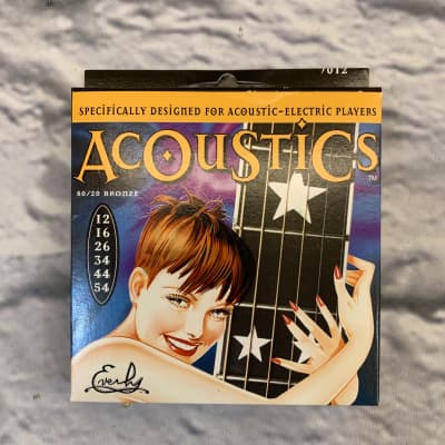 Everly Acoustics 80/20 Bronze 12-54 Acoustic Guitar Strings