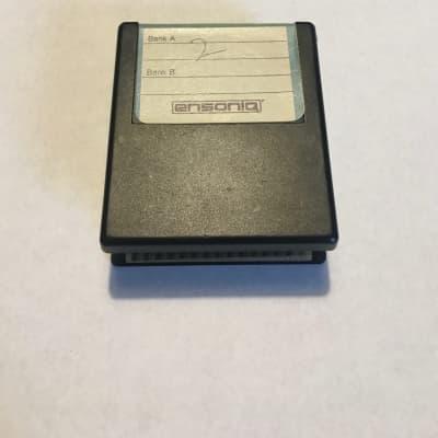 Ensoniq Vintage E-Prom RAM Cartridge - Storage for ESQ-1 or SQ-80 1988 Black