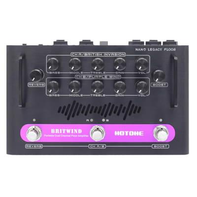 Hotone NLF-1 Nano Legacy BritWind Dual Channel Floor Amplifier