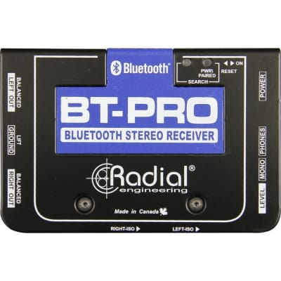 Radial BT-Pro BlueTooth Wireless Receiver w/ Stereo DI Outputs