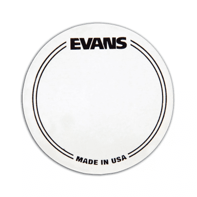 Evans EQPC1 EQ Clear Plastic Single Pedal Patch