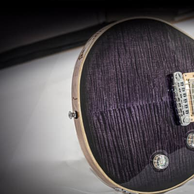 Mithans Guitars BERLIN purple boutique hand-made guitar for sale