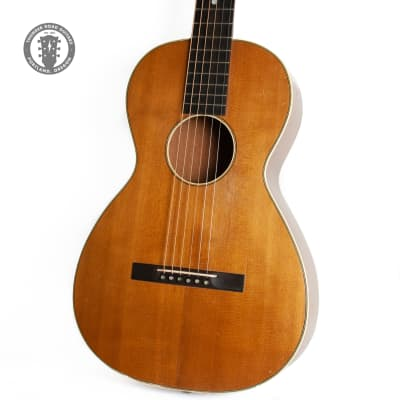 1900s Lyon and Healy Parlor Guitar - Natural Cedar (Refinished) for sale