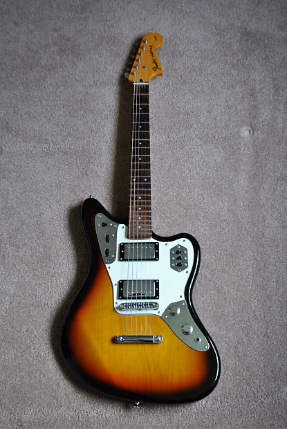 rare fender jaguar special hh made in japan **free shipping** | reverb