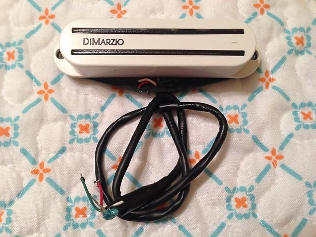 DiMarzio Fast Track 2 DP-182 White Pickup | Reverb