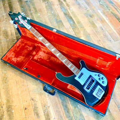 Rickenbacker 4001 bass guitar c 1976 Jetglo original vintage USA Geddy Lee 4000 4003 for sale