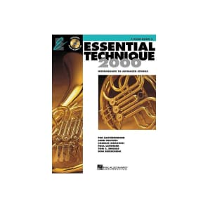 Hal Leonard Essential Technique for Band - Intermediate to Advanced Studies: F Horn