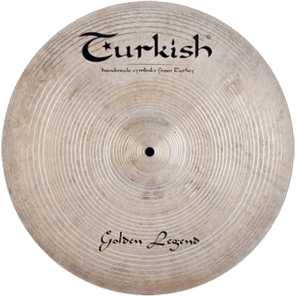 "Turkish Cymbals 22"" Custom Series Golden Legend Ride GL-R22"