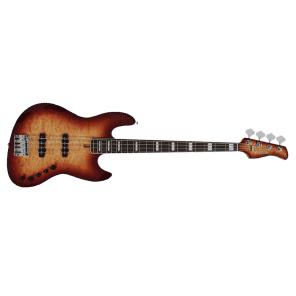 Sire Marcus Miller V9 4-String Alder Electric Bass with Deluxe Gig Bag - Brown Sunburst